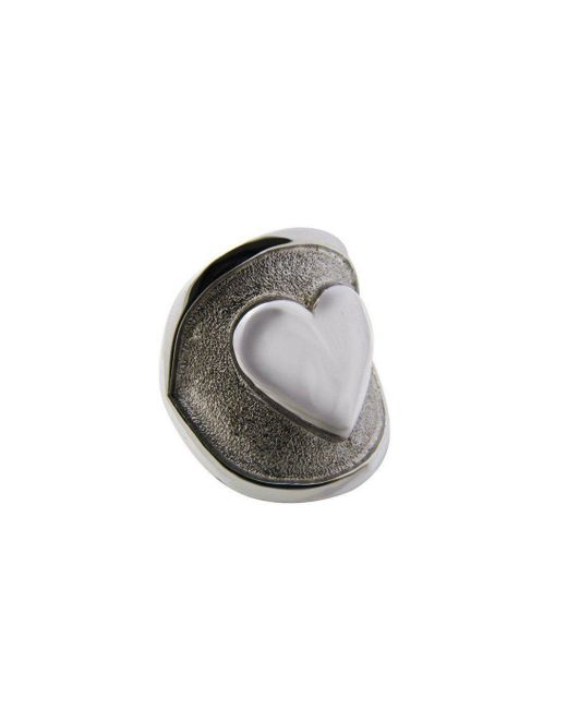 Luke Goldsmith - Metallic Silver Womens Identity Romantic Ring - Lyst