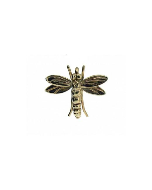 Will Bishop - Metallic Gold Dragonfly Pendant Without Chain - Lyst