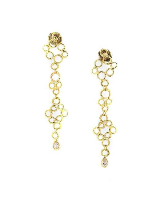 Erin Cox Jewellery - Metallic Bubble Drop Earrings - Lyst