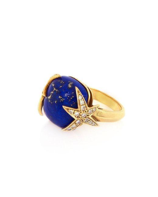 Alexandra Alberta - Multicolor Starry Night Ring - Lyst