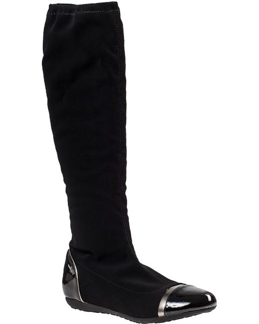 Chelsea Crew | Moon Tall Boot Black Fabric | Lyst
