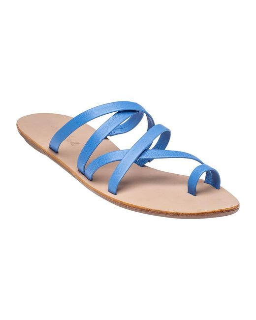 Loeffler Randall | Blue Sarie Leather Sandals | Lyst