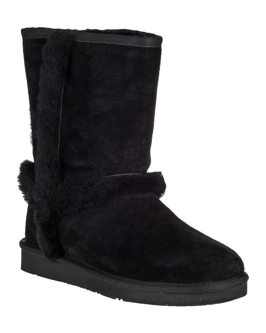Ugg | Carter Ankle Boot Black Suede | Lyst