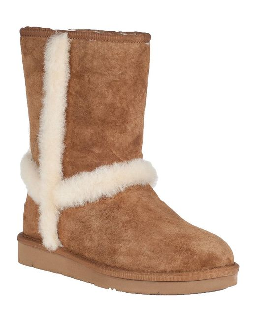 Ugg | Brown Carter Ankle Boot Chestnut Suede | Lyst
