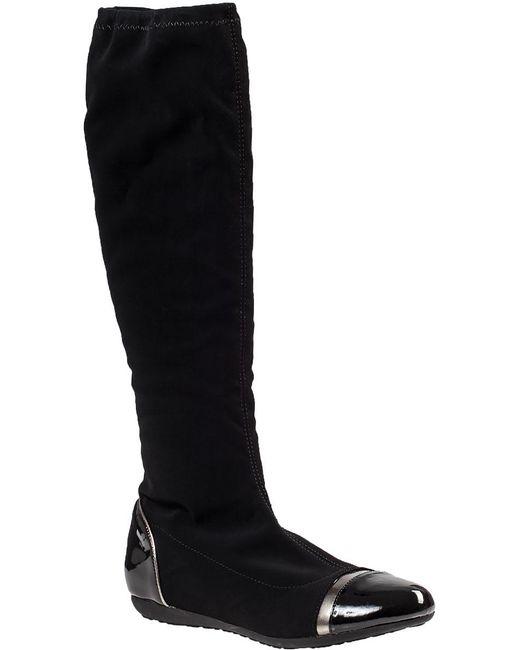 Chelsea Crew | Moon Tall Boot Black Fabric | Lyst