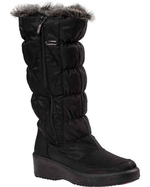 Pajar | Alexandra Snow Boot Black Fabric | Lyst