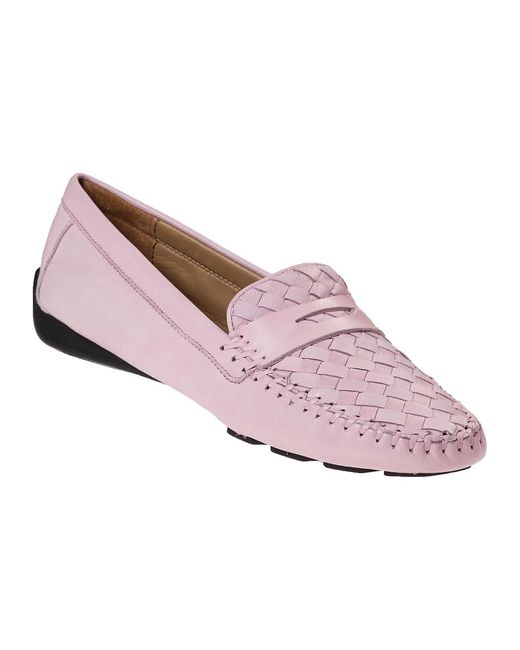 Robert Zur   Petra Loafer Seashell Pink Leather   Lyst
