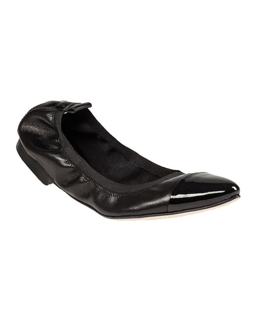 275 Central | Black Patent Point Toe Flat | Lyst