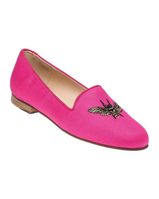 Jon Josef | Pink Bee Happy Smoking Loafers | Lyst