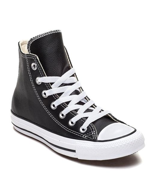 Converse Chuck Taylor All-star Hi-top Sneaker Black Leather