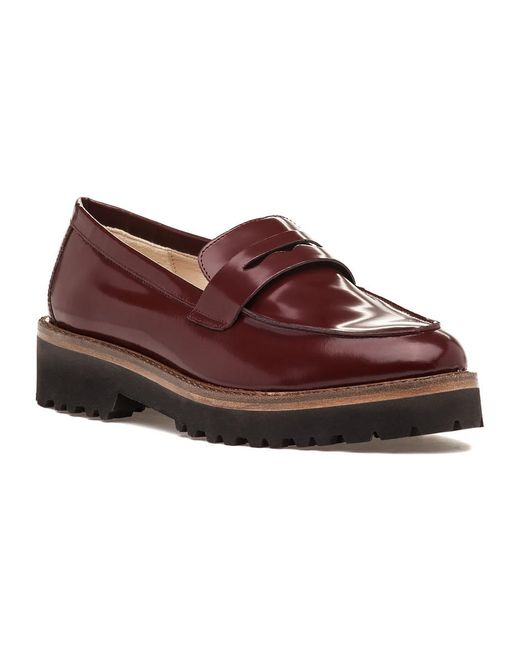 275 Central | Red 3274 Loafer Barolo Leather | Lyst