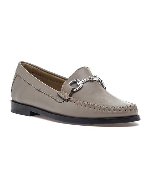 Robert Zur   Multicolor Viale Bit Loafer Taupe Leather   Lyst