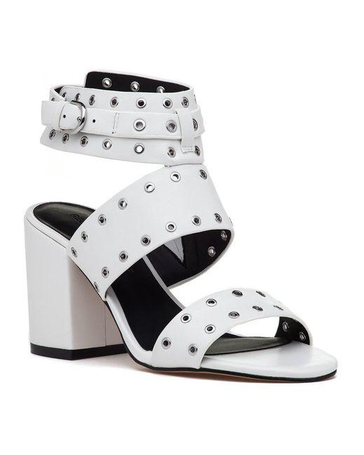 811ba5111f7 Lyst - Rebecca Minkoff Carter Sandal Optic White Leather in White ...