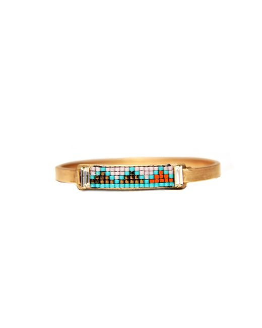 Jill Golden   Metallic Kigali Bracelets   Lyst