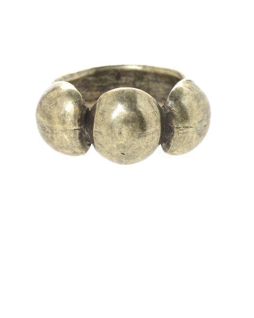 Jill Golden | Metallic Odeon Ring | Lyst
