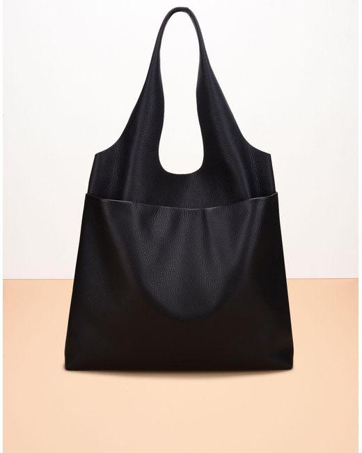 Jil Sander Navy | Black Shoulder Bag | Lyst