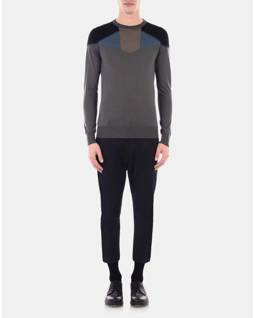Jil Sander | Gray Knitwear for Men | Lyst