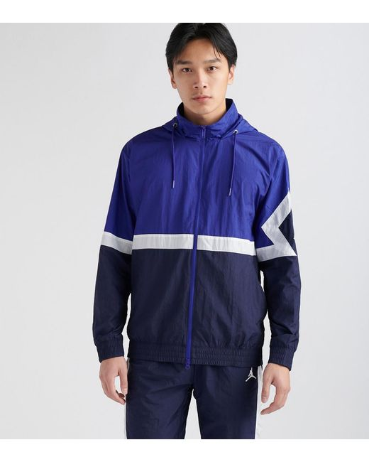 6146079aed73 Nike - Blue Diamond Hooded Jacket for Men - Lyst ...