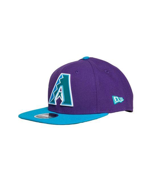 KTZ - Purple Arizona Diamondbacks Snapback for Men - Lyst