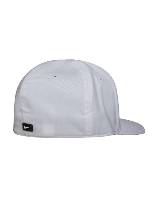 quality design 83924 39f10 italy nike mens pro swoosh classic snapback hat white black 639534 100  3d0a0 f77ab  ireland nike white classic 99 hat for men lyst bcac5 1a02d