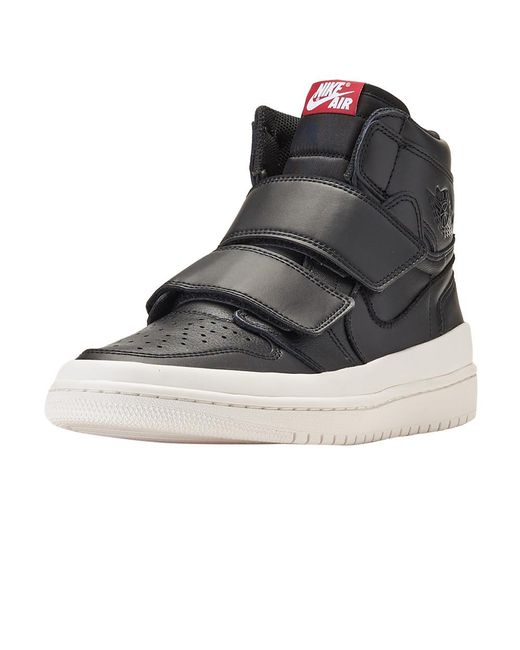 official photos 9f906 ef206 Nike - Black Retro 1 High Double Strap for Men - Lyst ...