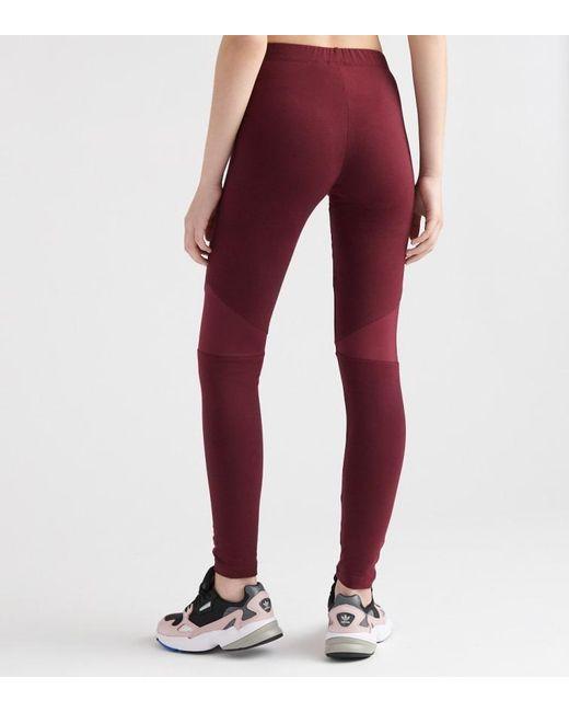 837c0eebeb1 ... Adidas - Purple Colorado LEGGING - Lyst ...