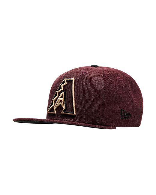 KTZ - Red Arizona Diamonbacks Snapback Hat for Men - Lyst