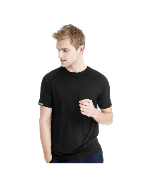 Joe Fresh | Black Men's Crew Neck Active Tee for Men | Lyst