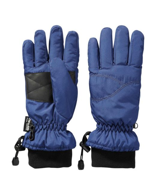 Joe Fresh | Blue Insulated Ski Gloves | Lyst