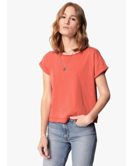 Joe's Jeans | Multicolor Hunter Crop Tee | Lyst