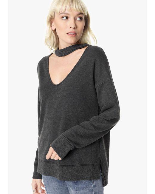 Joe's Jeans - Black Sofie Sweatshirt - Lyst