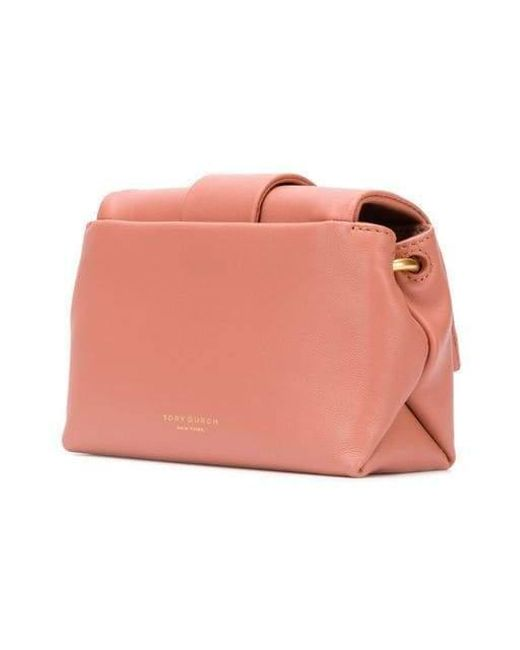 677daab82e2 ... Tory Burch - Pink Greer Mini Bag - Lyst ...