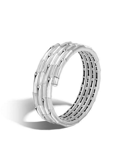 John Hardy | Metallic Coil Bracelet | Lyst