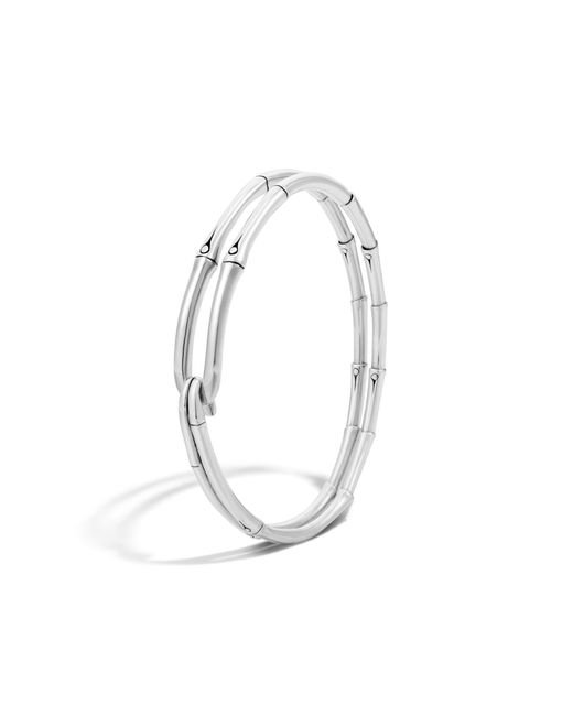John Hardy | Metallic Bamboo Bangle | Lyst
