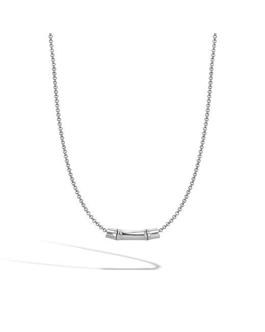 John Hardy | Metallic Slide Pendant Necklace | Lyst
