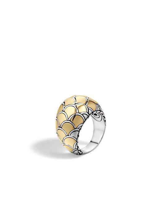 John Hardy | Metallic Naga Dome Ring | Lyst