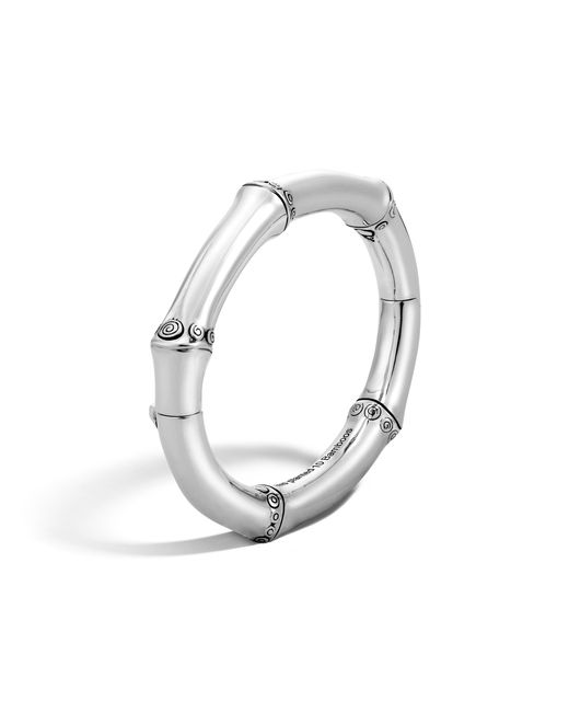 John Hardy | Metallic Hinged Bangle | Lyst