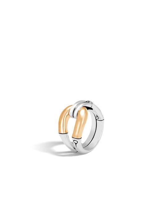 John Hardy - Metallic Bamboo Ring - Lyst