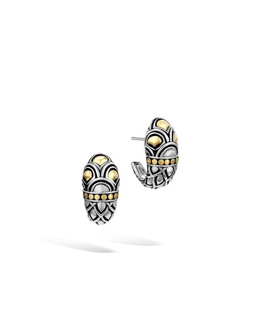 John Hardy - Multicolor Naga Buddha Belly Earring - Lyst