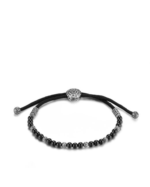 John Hardy - Classic Chain Bead Bracelet With Black Onyx for Men - Lyst
