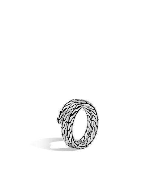 John Hardy - Metallic Classic Chain Coil Ring - Lyst