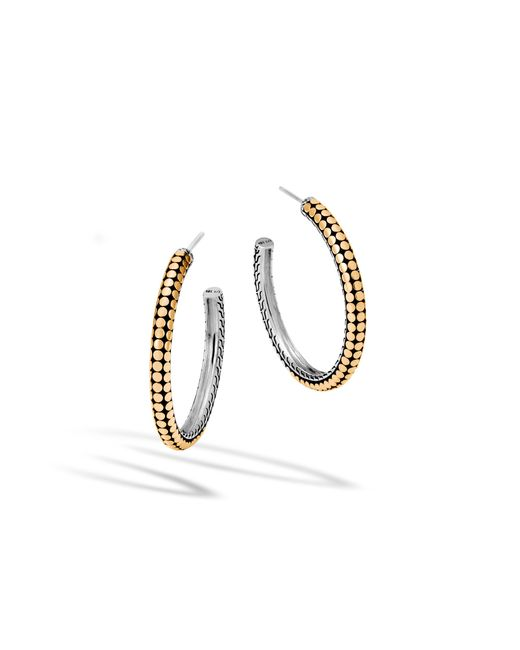 John Hardy | Multicolor Medium Hoop Earring | Lyst