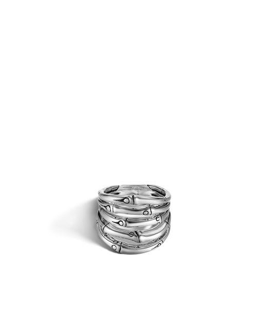 John Hardy | Metallic Bamboo Ring | Lyst