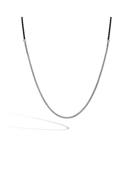 John Hardy | Black Classic Chain Necklace | Lyst