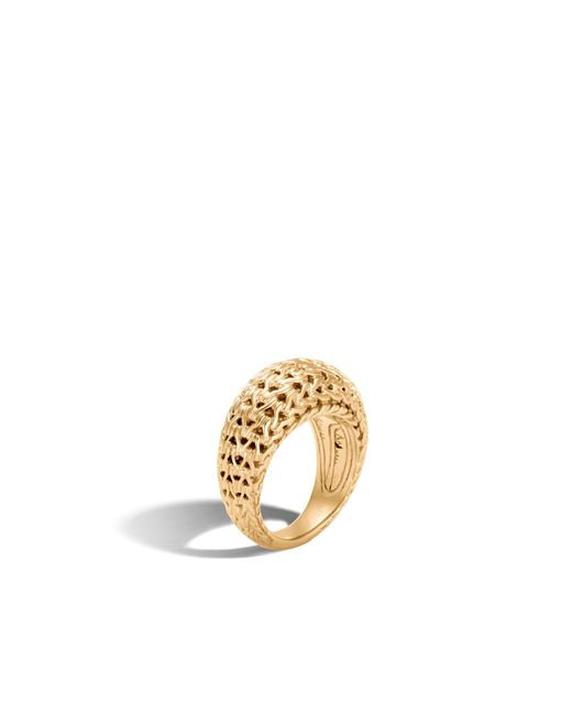 John Hardy | Metallic Classic Chain Dome Ring | Lyst