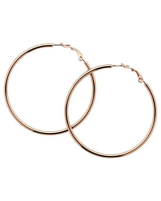 Melissa Odabash - Pink Large Polished Hoop Earrings - Lyst