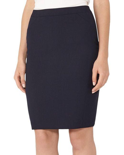 Reiss   Blue Faulkner Tailored Skirt   Lyst