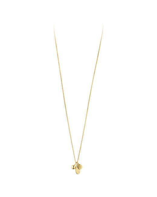 Dyrberg/Kern   Metallic Dyrberg/kern Fundrina Brass Necklace   Lyst