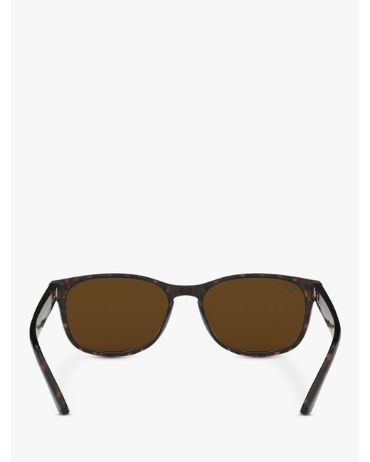 47b361c50b ... Lyst Ray-Ban - Brown Rb2184 Women s Polarised Square Sunglasses ...