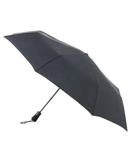 Fulton - Black Jumbo Open And Close Umbrella - Lyst